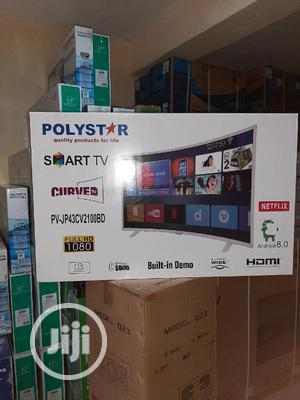 Polyestar Smart TV 43inches Curved   TV & DVD Equipment for sale in Abuja (FCT) State, Wuse