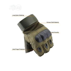 Tactical Hand Gloves Half Finger   Sports Equipment for sale in Lagos State, Ikeja