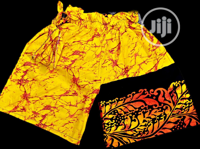 African Print Ankara Pallazo Short   Clothing for sale in Oshodi-Isolo, Lagos State, Nigeria