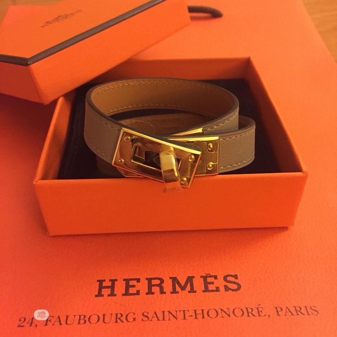 Hermes Leather Bracelet For Men's