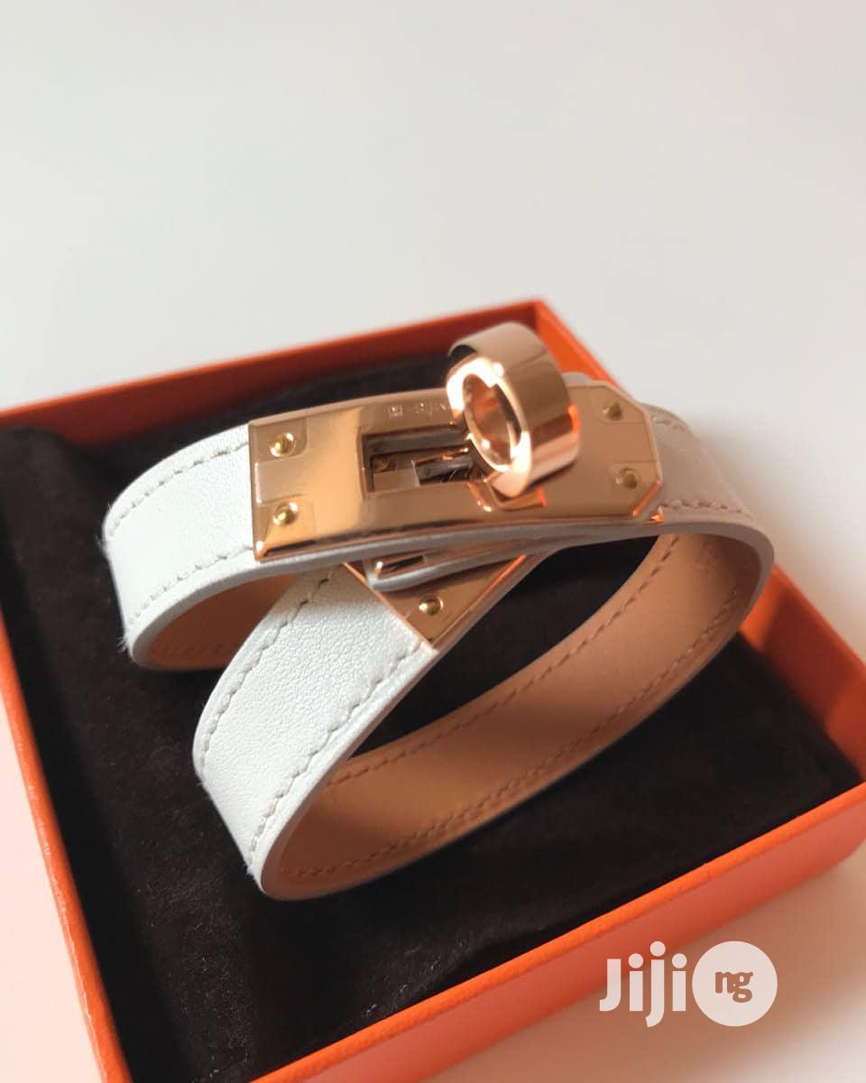 Hermes Leather Bracelet For Men's