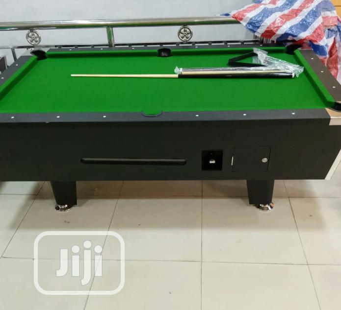 American Premium Quality Coin Operated Snooker Board With Accessories