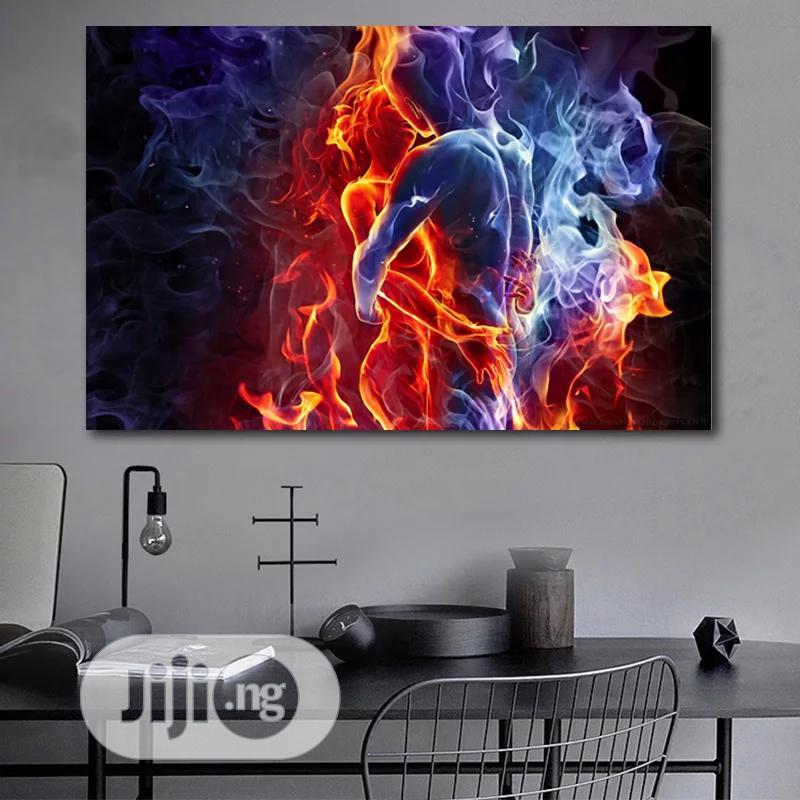 Colourful Framed Artwork