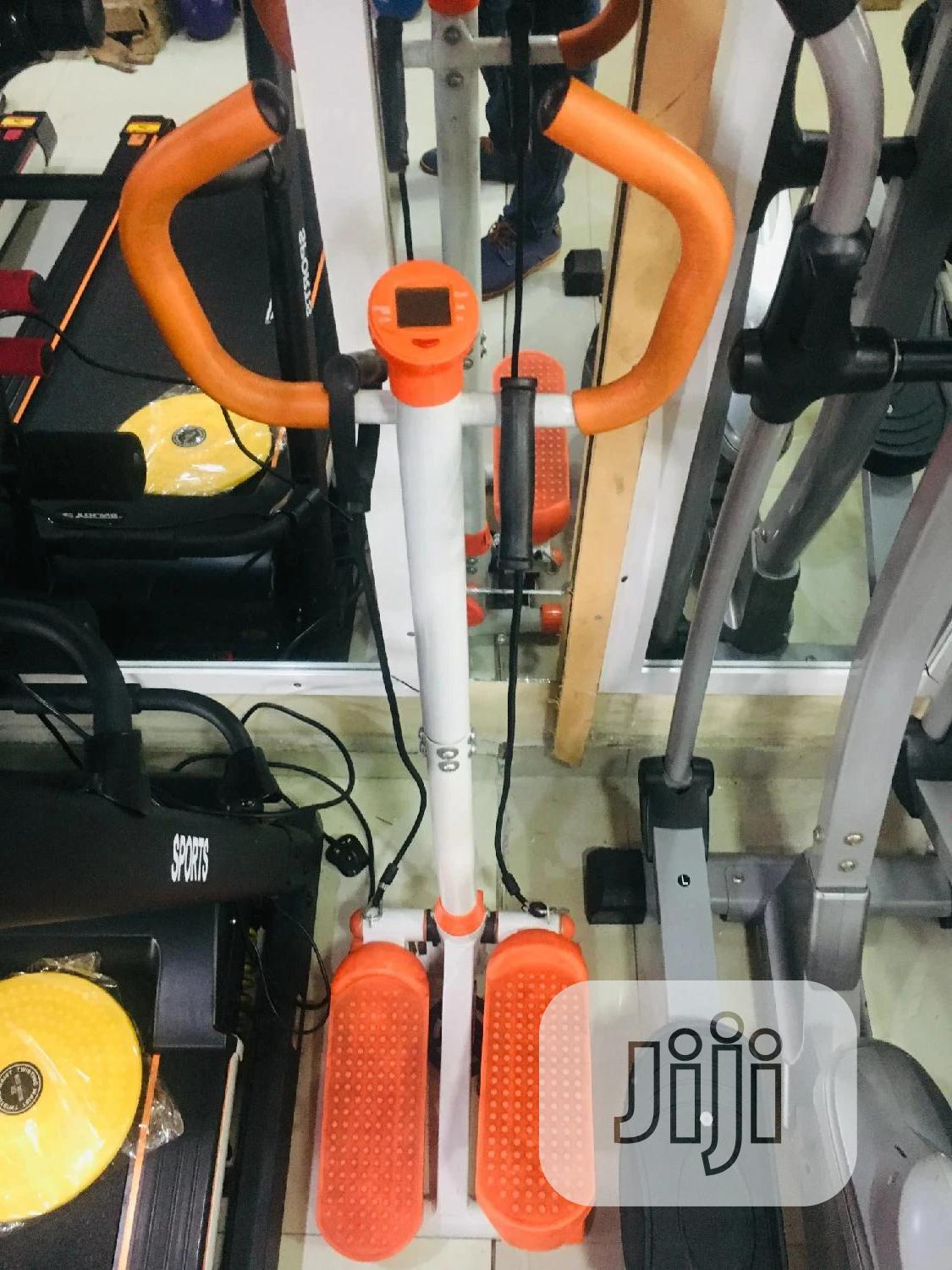 Multifunction Stepper With Handle