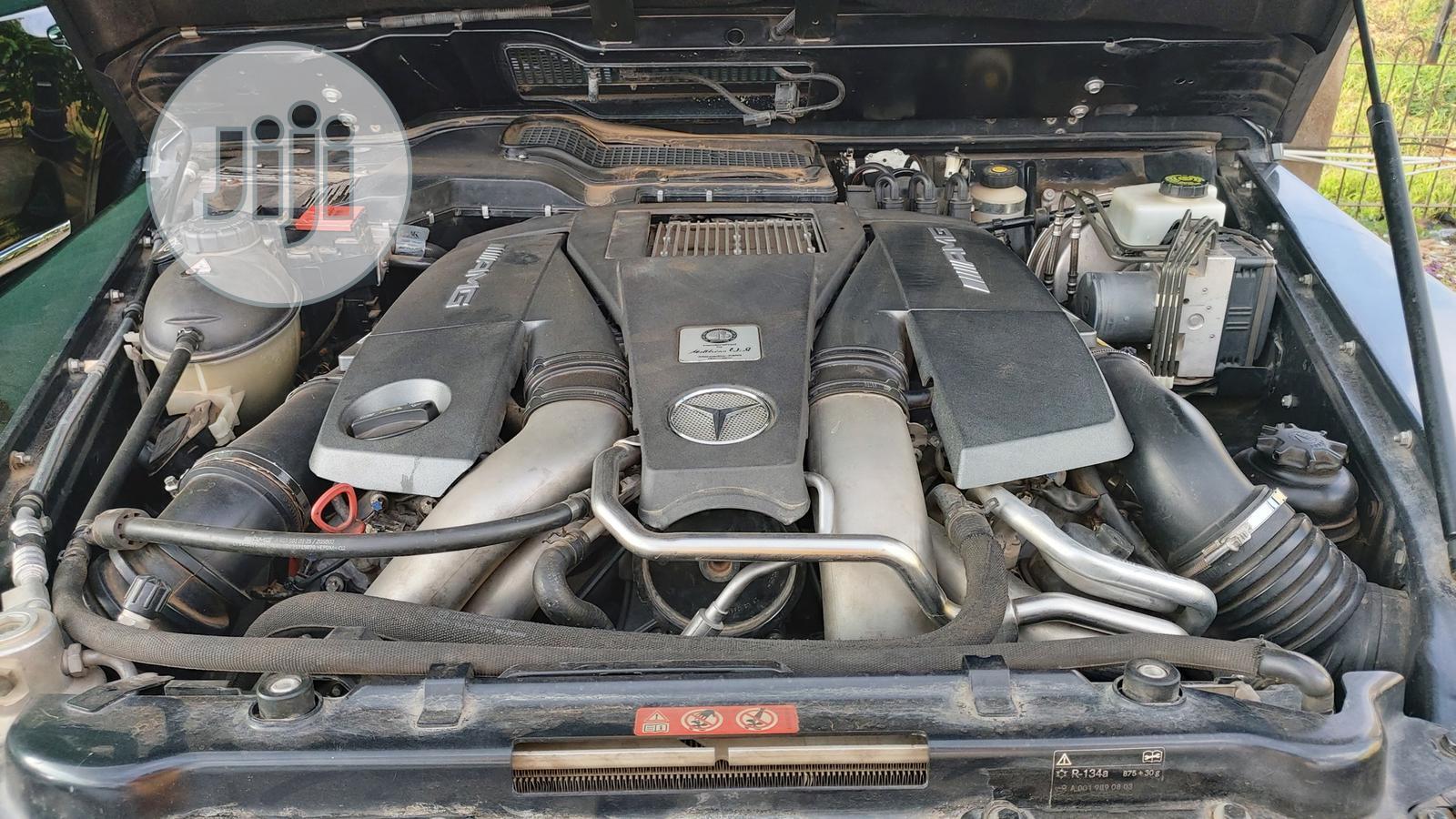Archive: Mercedes-Benz G-Class 2015 Black