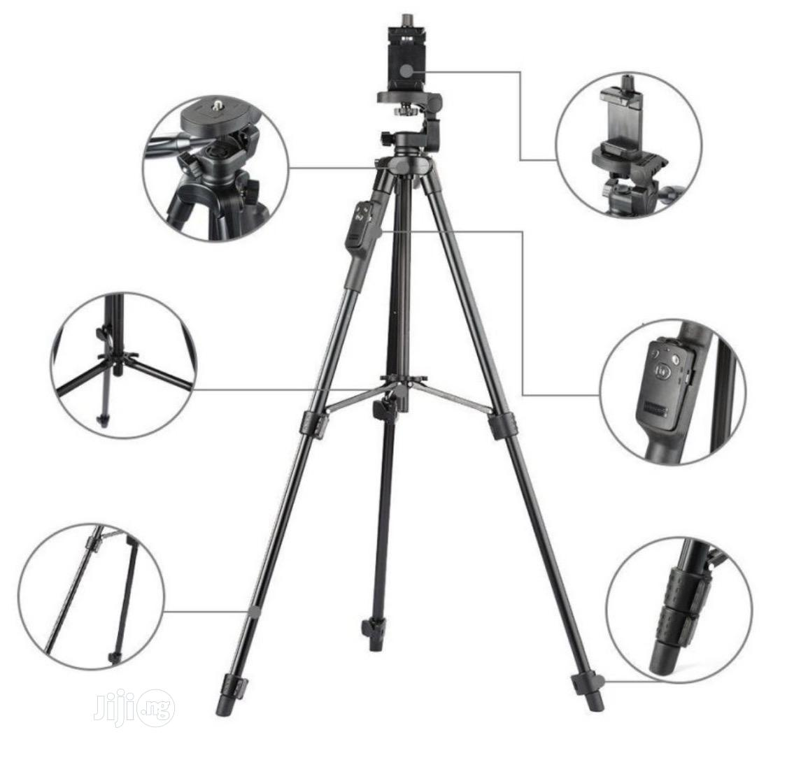 YUNGTENG VCT-5208RM Smartphones Tripod Stand With Remote Control | Accessories & Supplies for Electronics for sale in Port-Harcourt, Rivers State, Nigeria