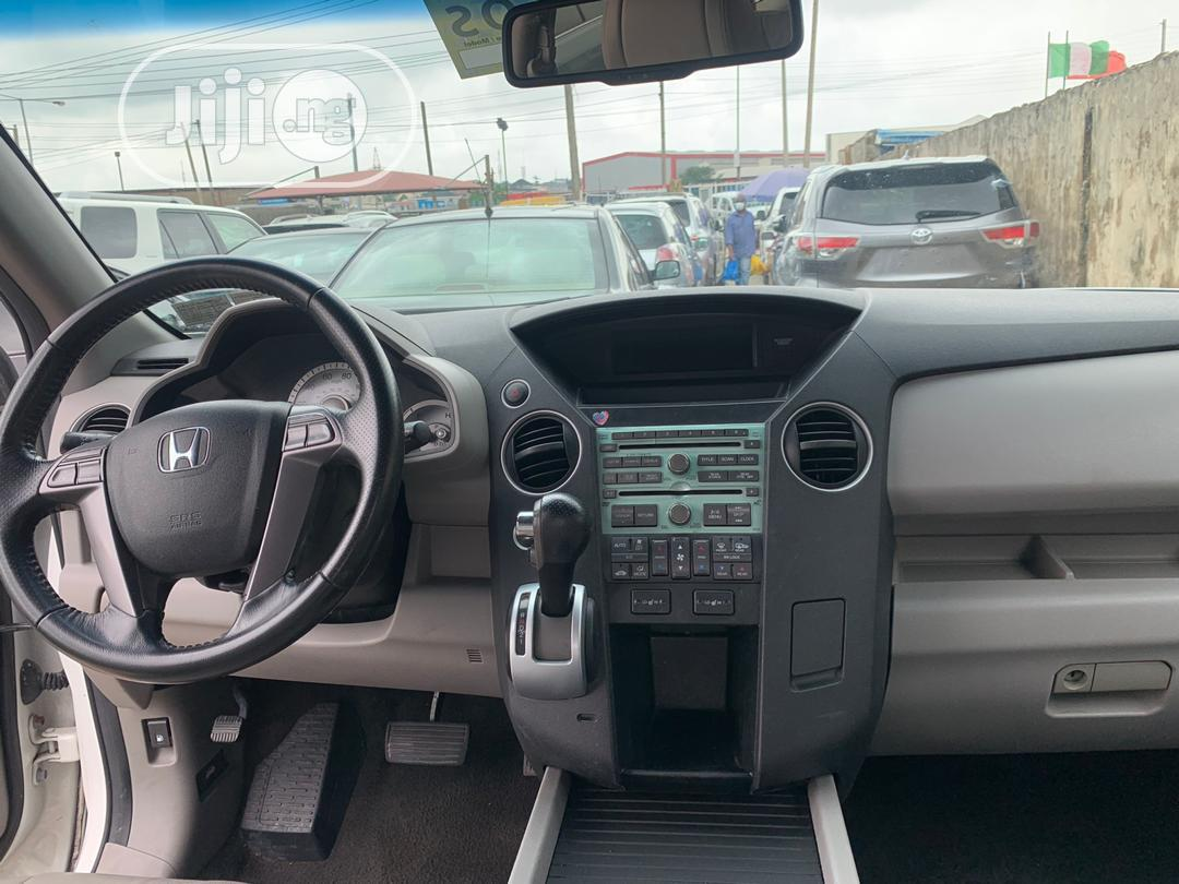 Honda Pilot 2010 White | Cars for sale in Ikeja, Lagos State, Nigeria