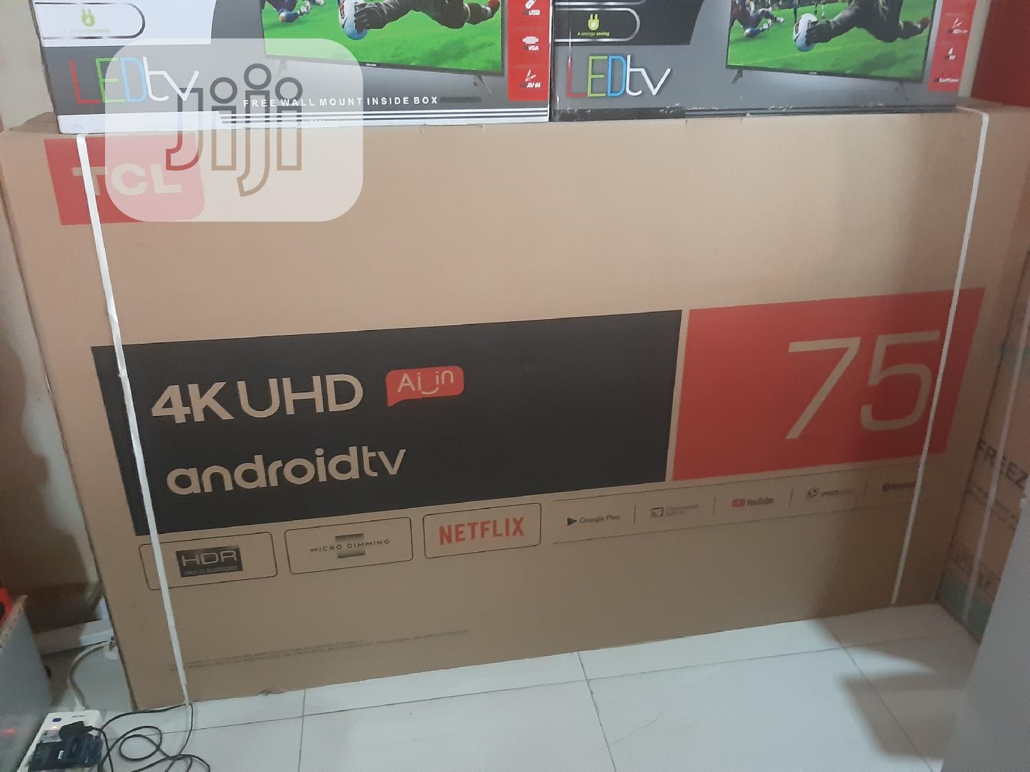 """TCL 75"""" Smart Android Television"""