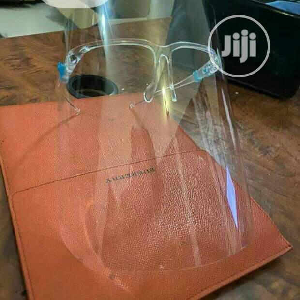 Archive: Face Shield With Glasses Frame
