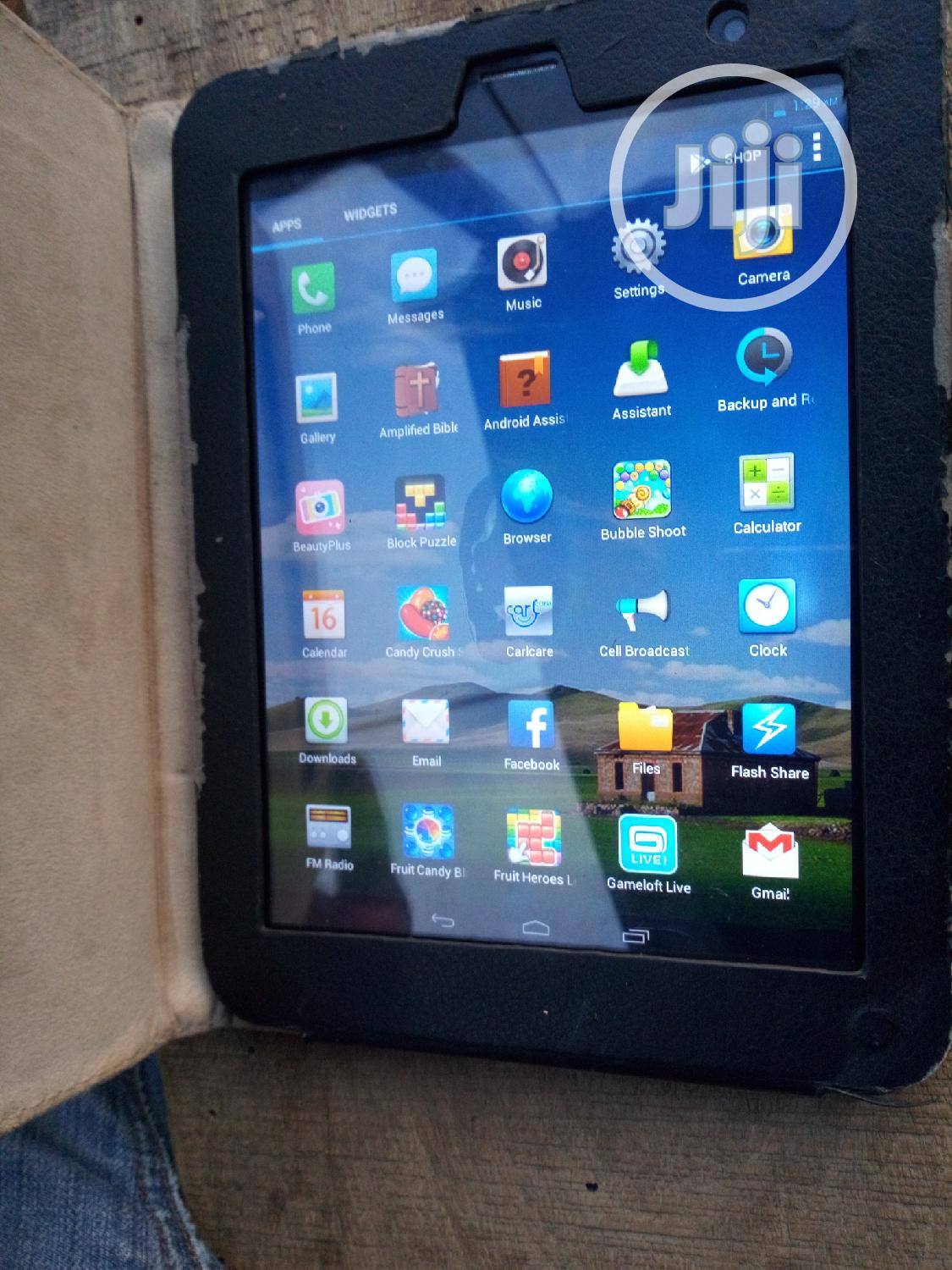 Tecno DroiPad 7C Pro 16 GB Black | Tablets for sale in Lugbe District, Abuja (FCT) State, Nigeria
