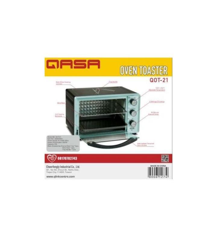 Archive: QASA 21litres Electric Oven