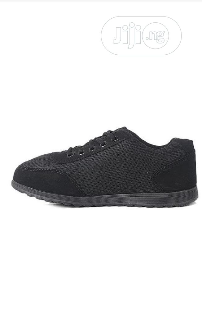 Black Sneakers | Shoes for sale in Ikeja, Lagos State, Nigeria