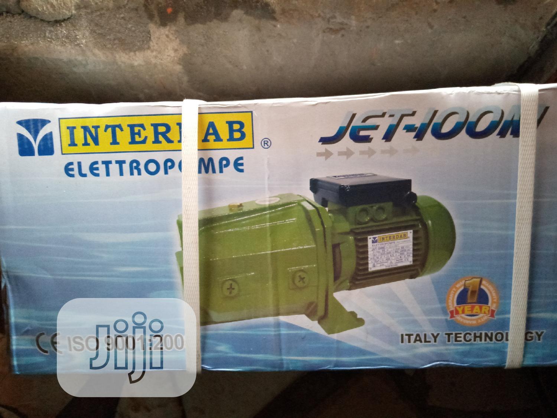 INTERDAB 1HP Surface Pumping Machine +100 %Corper Coil