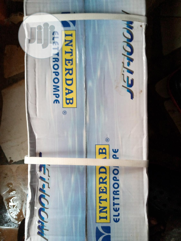 INTERDAB 1HP Surface Pumping Machine +100 %Corper Coil | Plumbing & Water Supply for sale in Mushin, Lagos State, Nigeria