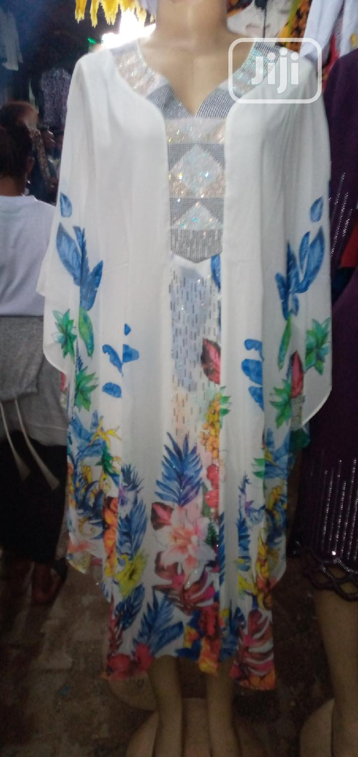 Women Floral Chiffon Dress   Clothing for sale in Ikeja, Lagos State, Nigeria