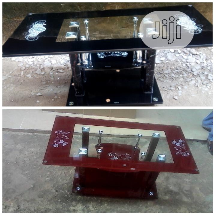 Archive: Glass Center Table