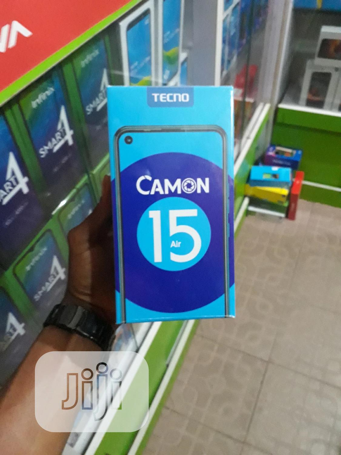 New Tecno Camon 15 Air 64 GB | Mobile Phones for sale in Ikeja, Lagos State, Nigeria