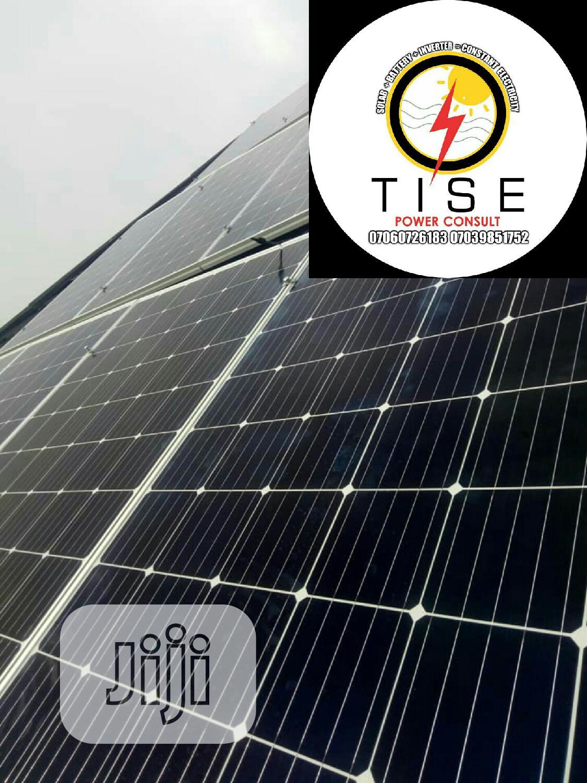 Archive: 5kva 48v 24hrs Complete Solar Energy Setup