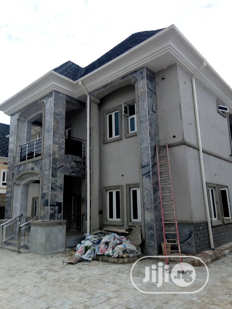 Archive: Brand New And Beautifully Finished 5 Bedroom Duplex With 2 Rooms Bq