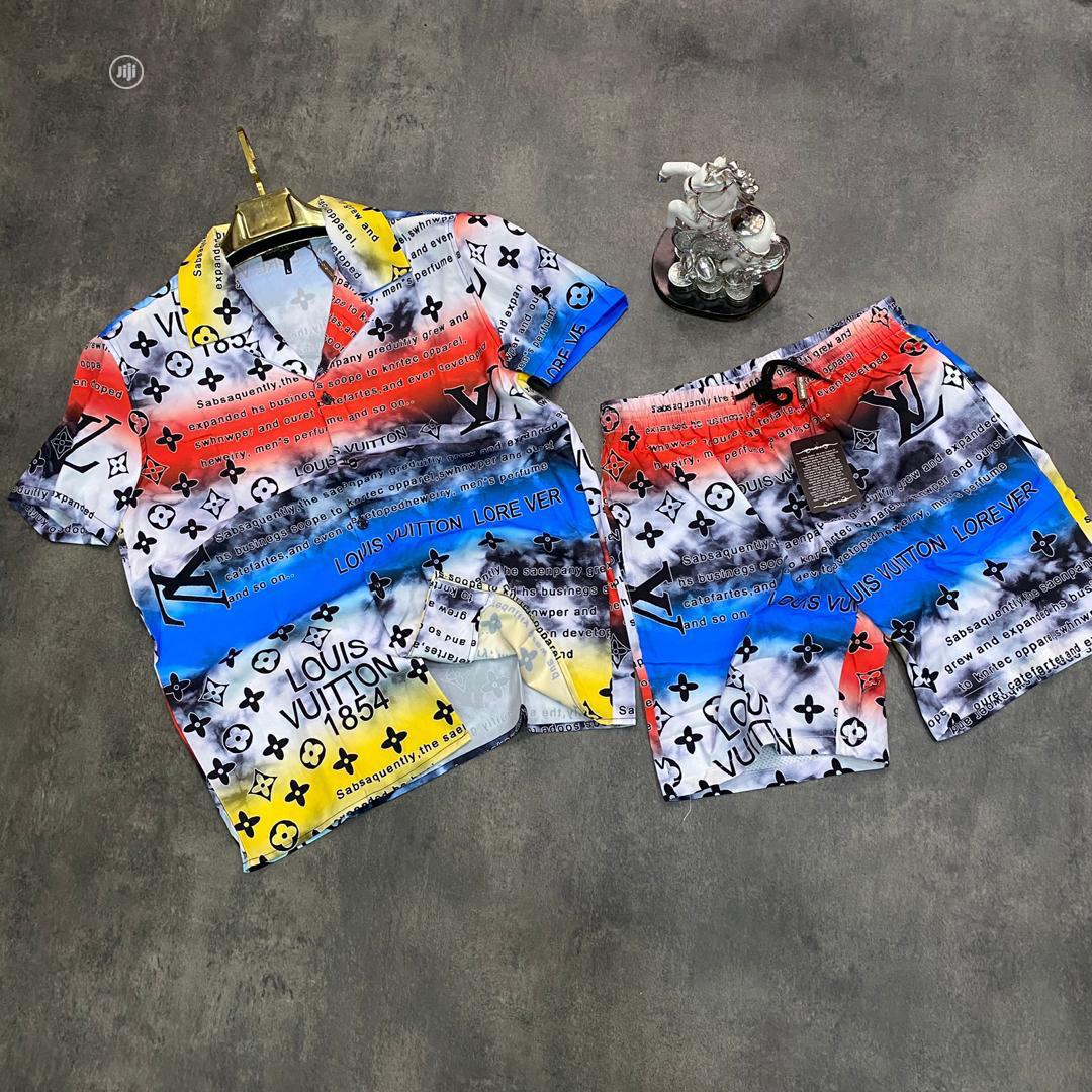 Quality Vintage Designers Shorts and Shirts for Men