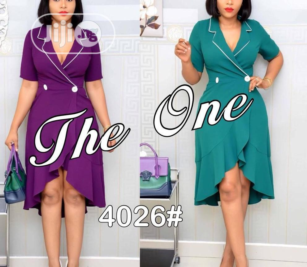 Knee Length Sexy Women's Gown | Clothing for sale in Ifako-Ijaiye, Lagos State, Nigeria