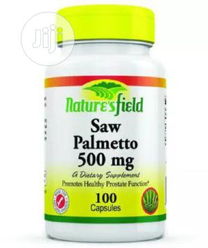 Nature's Field Saw Palmetto-100 Tablets   Vitamins & Supplements for sale in Lagos State, Ojo