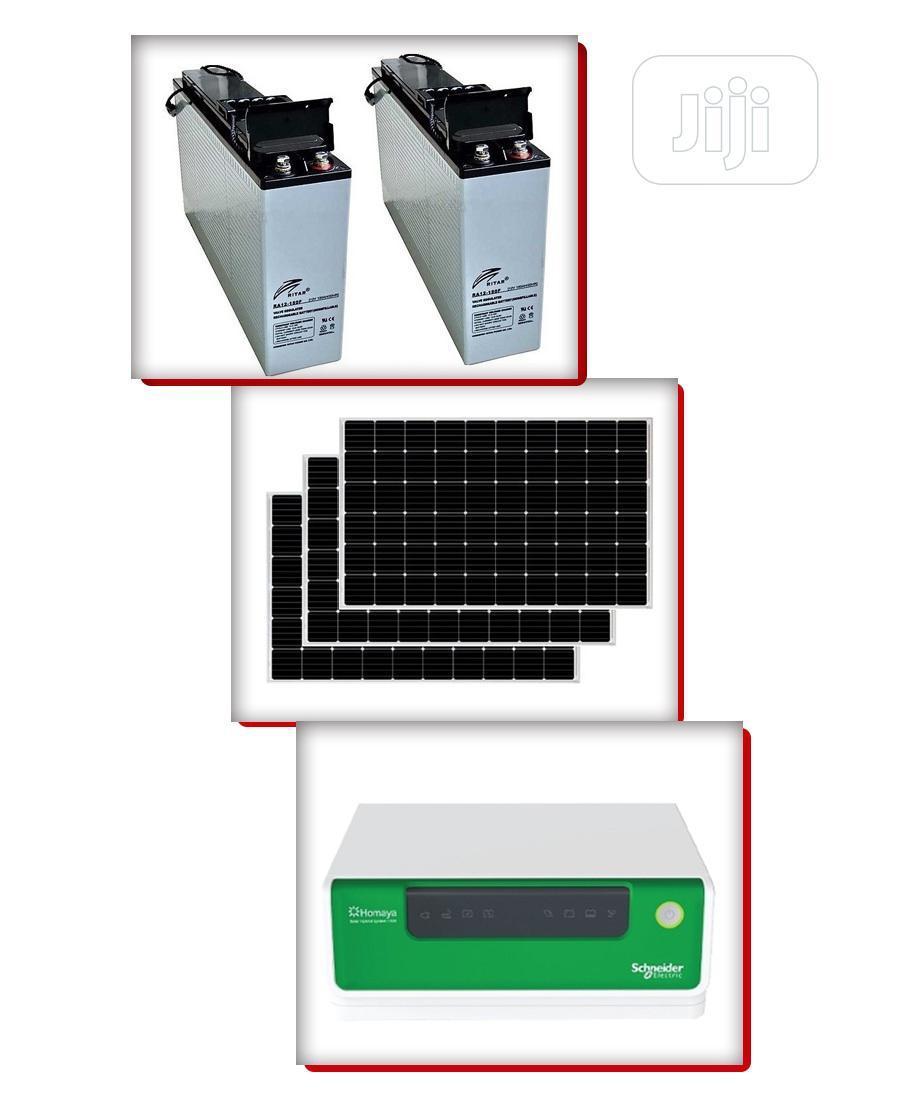 1.5KVA Complete Hybrid Solar Energy System