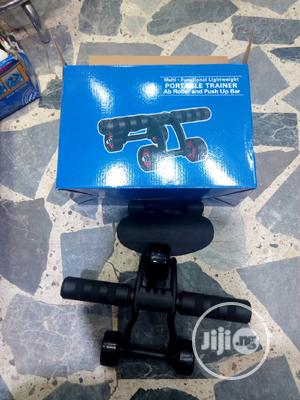 Ab Roller And Push Up Bar | Sports Equipment for sale in Lagos State, Ikoyi