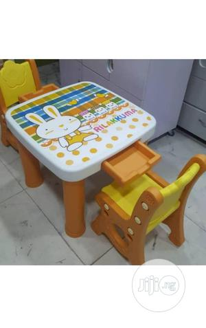 Kids Plastic Table And Chair With Drawer | Children's Furniture for sale in Lagos State, Lagos Island (Eko)