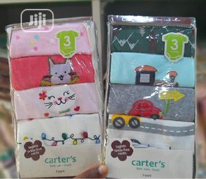 Carter's 5 In 1 Baby Unisex Bodysuits   Children's Clothing for sale in Lagos State, Ajah