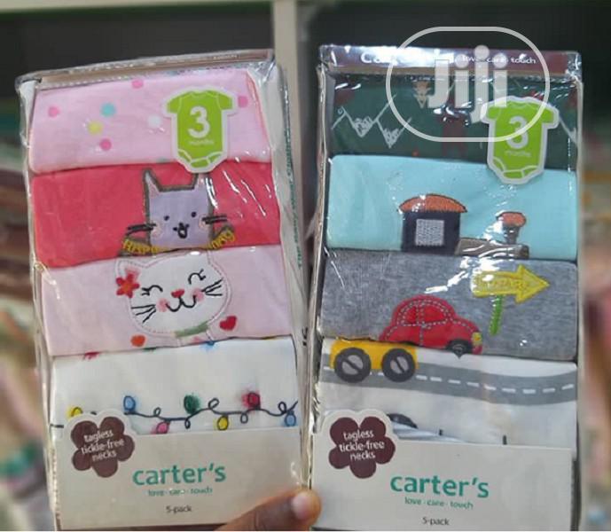 Carter's 5 In 1 Baby Unisex Bodysuits