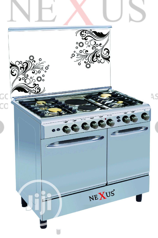Brand New Nexus Gas Cooker Gccr-nx-8001s(4+2)Double Oven