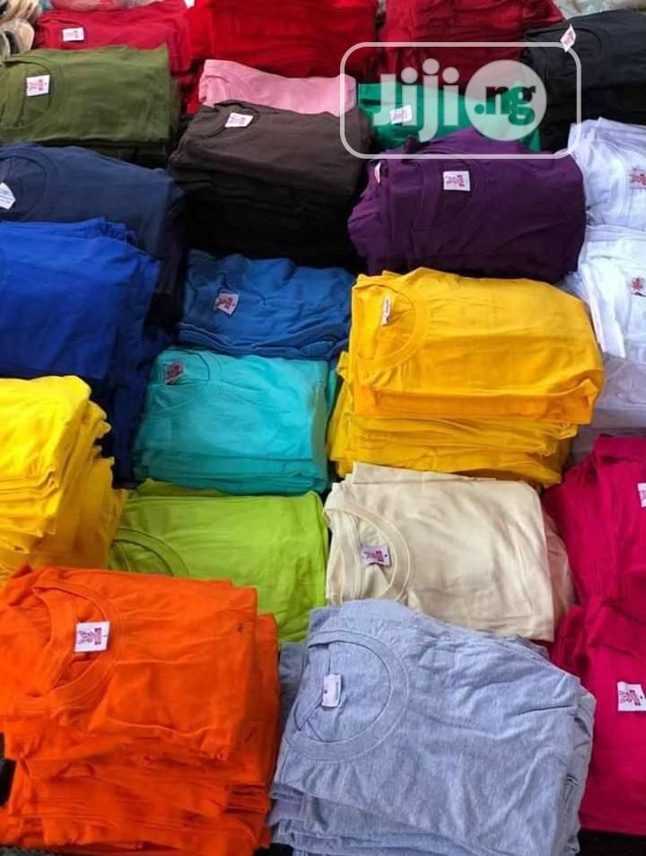 Plain Tees And Cap ..Color