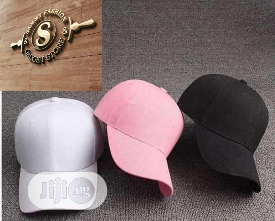 Plain Tees And Cap ..Color | Clothing Accessories for sale in Ifako-Ijaiye, Lagos State, Nigeria
