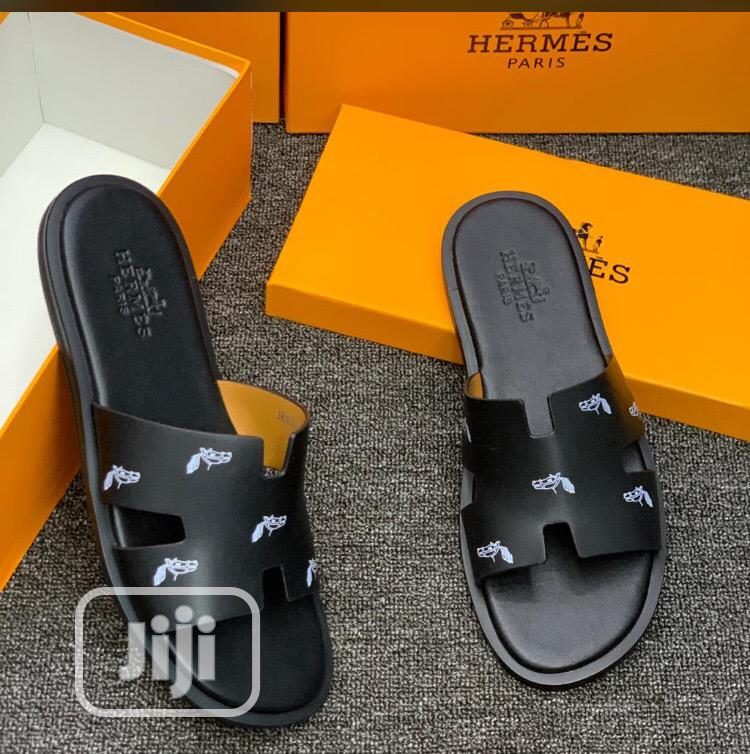 Hermes Designers Pams For Classy Men | Shoes for sale in Amuwo-Odofin, Lagos State, Nigeria