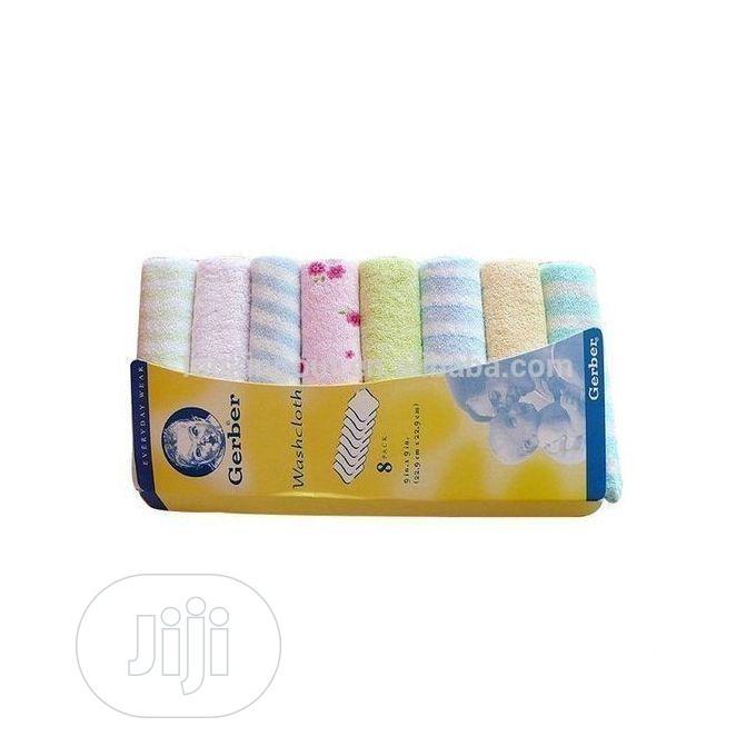 Gerber Gerber Baby Wash Cloth Towel Set 8 In 1