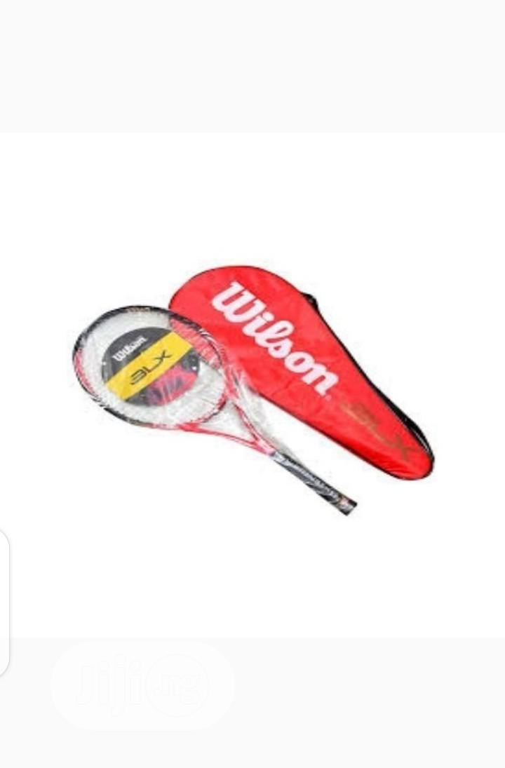 Wilson Long Tennis Racket Brand New Imported | Sports Equipment for sale in Ojo, Lagos State, Nigeria