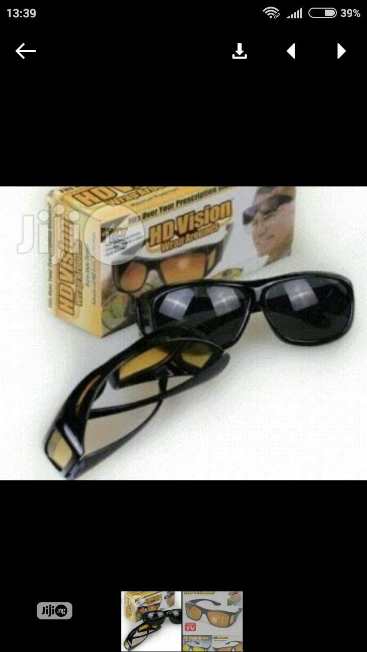 Night Vision Eye Glasses | Clothing Accessories for sale in Alimosho, Lagos State, Nigeria