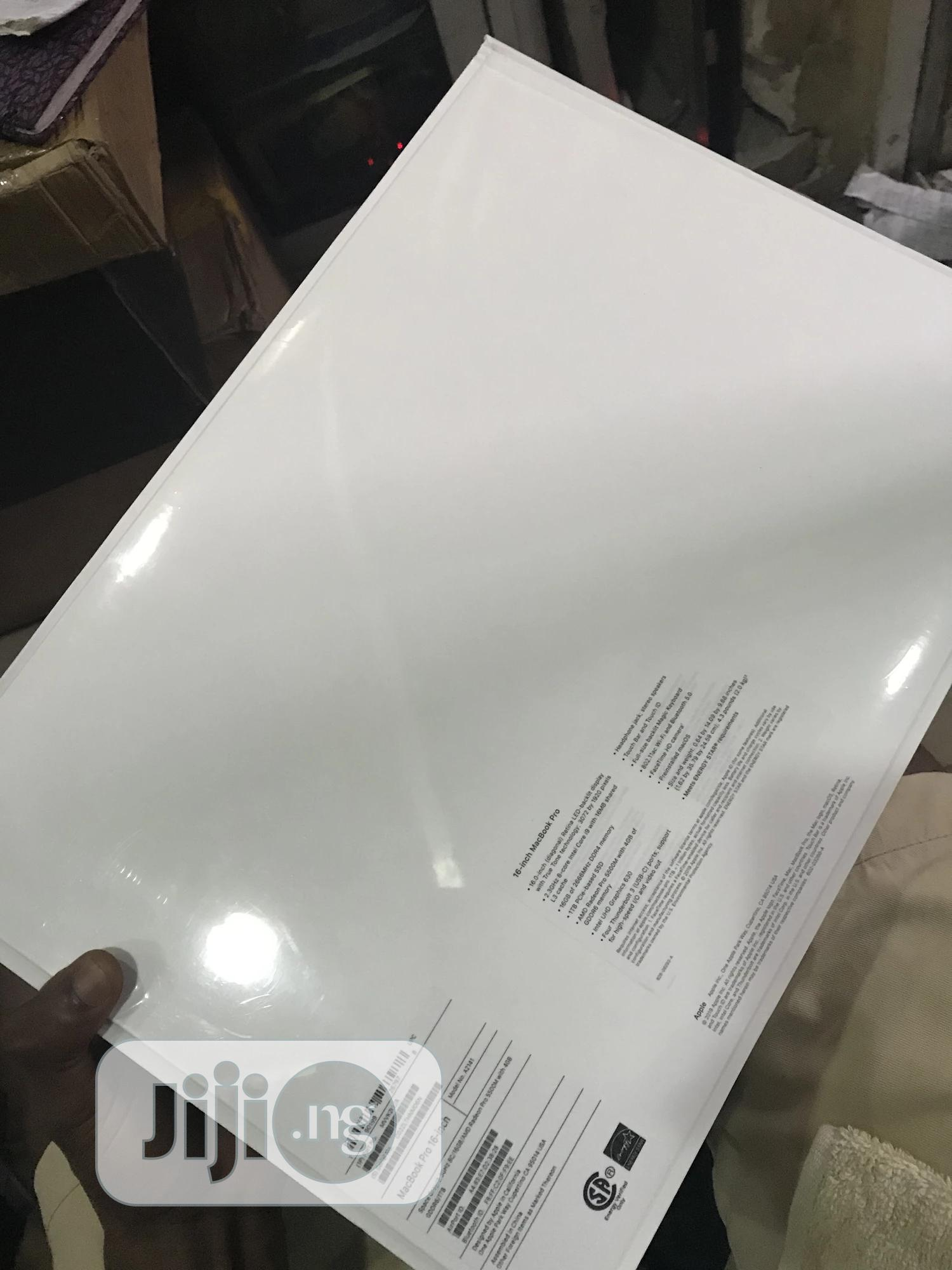 New Laptop Apple MacBook Pro 2020 16GB Intel Core i9 SSD 1T | Laptops & Computers for sale in Ikeja, Lagos State, Nigeria