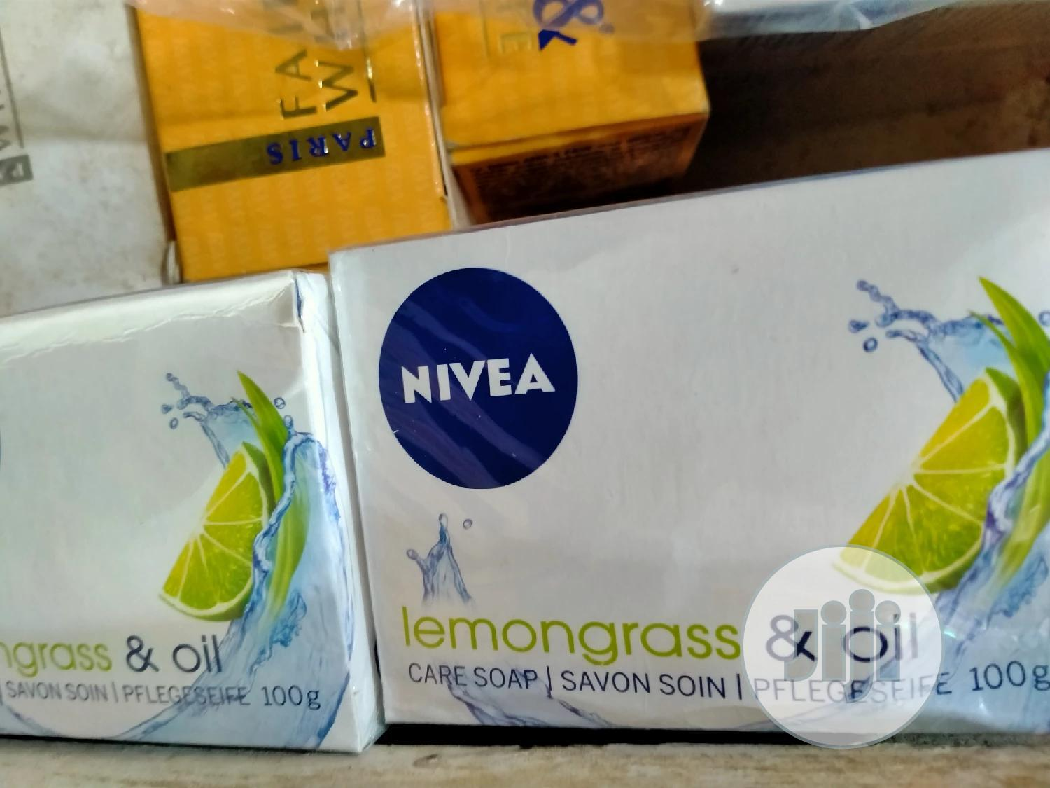Nivea Lemongrass & Oil Soap (6in1pack) | Bath & Body for sale in Amuwo-Odofin, Lagos State, Nigeria