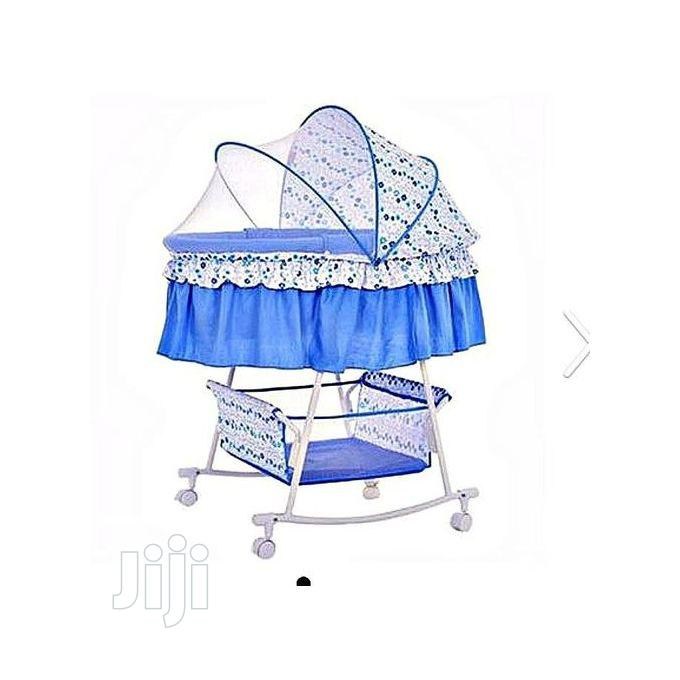 Baby Cot Cradle Bassinet, Bed, With Wheel And Storage