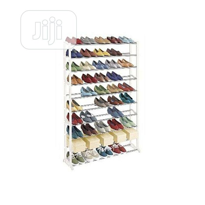 10 Layers Shoe Rack - Up To 50 Pairs Of Shoes