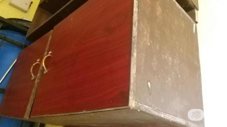 Kitchen HDF Wall Shelf/Cabinet | Furniture for sale in Ajah, Lagos State, Nigeria