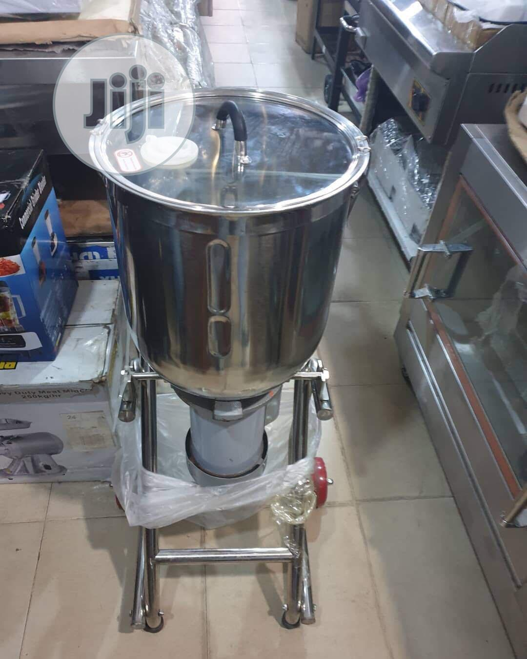New Industrial Blender Stainless Steel 30 Litres | Restaurant & Catering Equipment for sale in Ojo, Lagos State, Nigeria