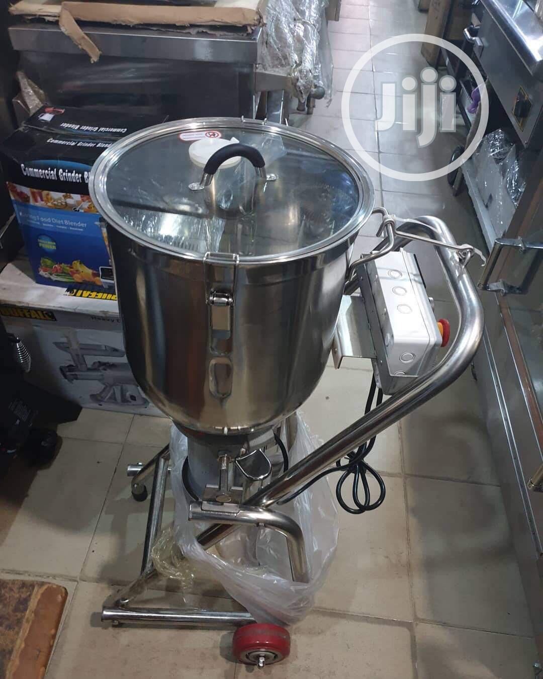 New Industrial Blender Stainless Steel 30 Litres