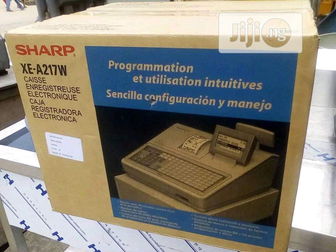 Archive: Sharp Cash Register Xe A217w