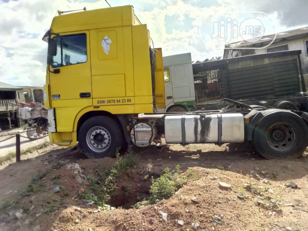Daf XF 95 2006 Yellow