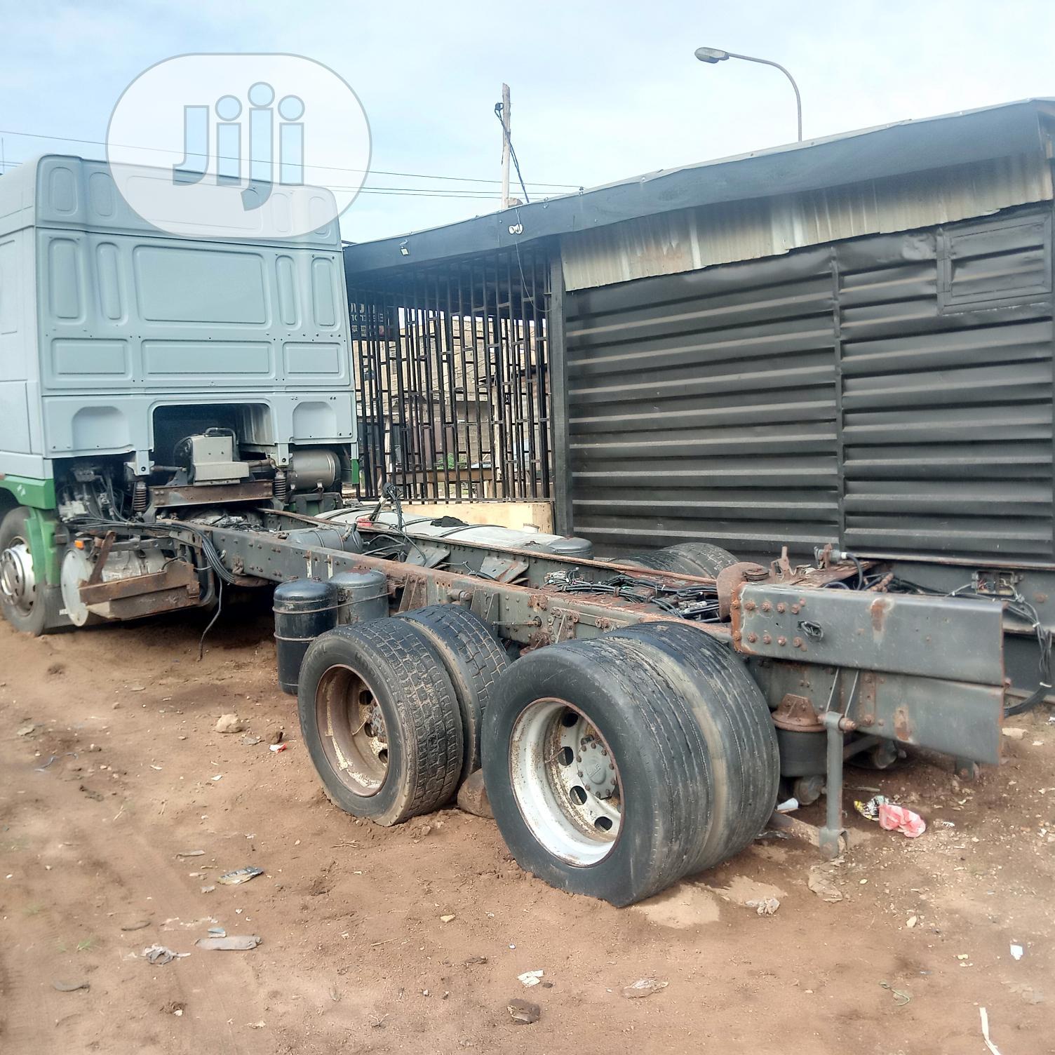 Daf XF 95 2006 Yellow | Trucks & Trailers for sale in Abeokuta South, Ogun State, Nigeria