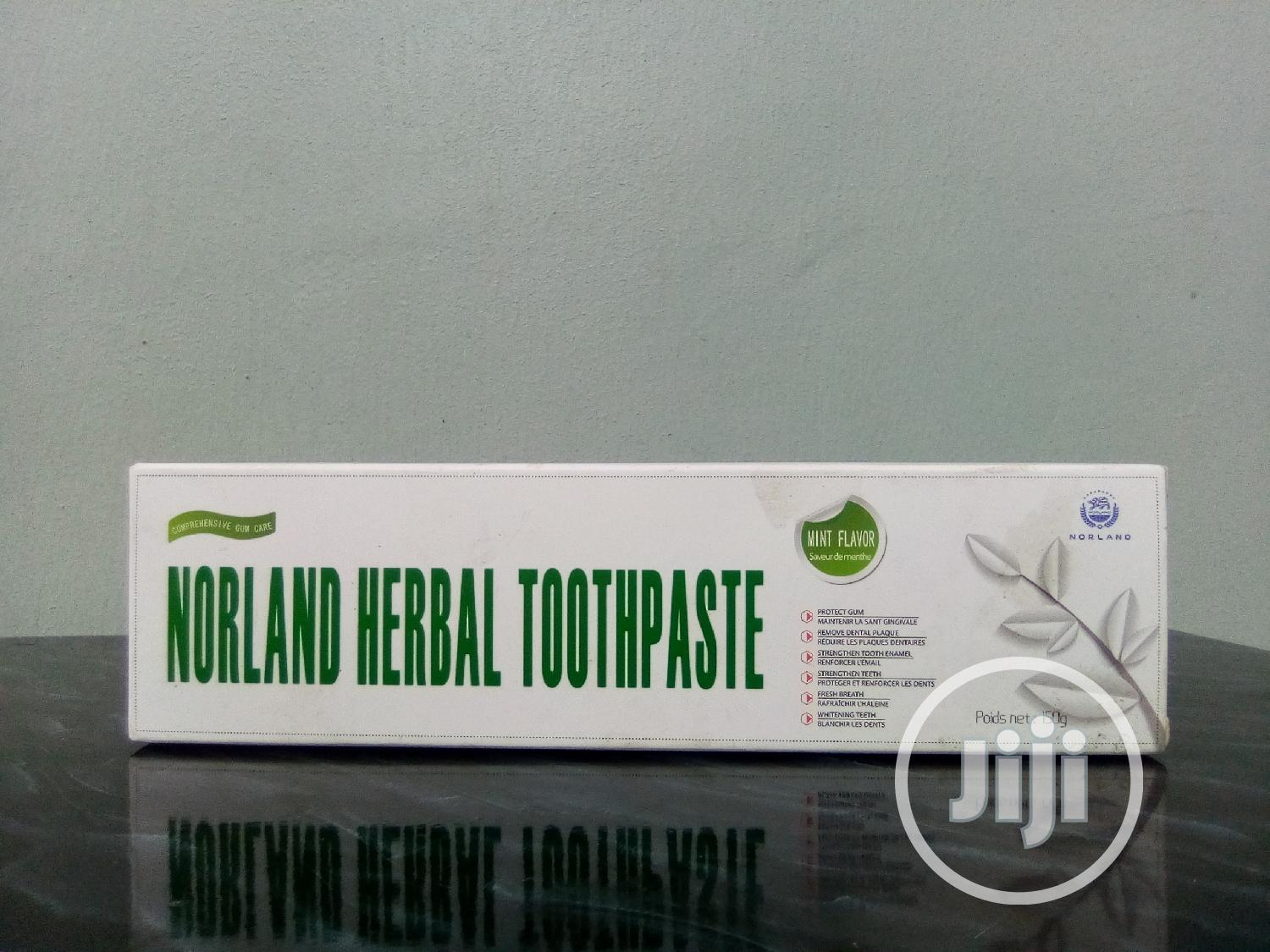 Cure Tooth Ache With Norland Herbal Toothpaste
