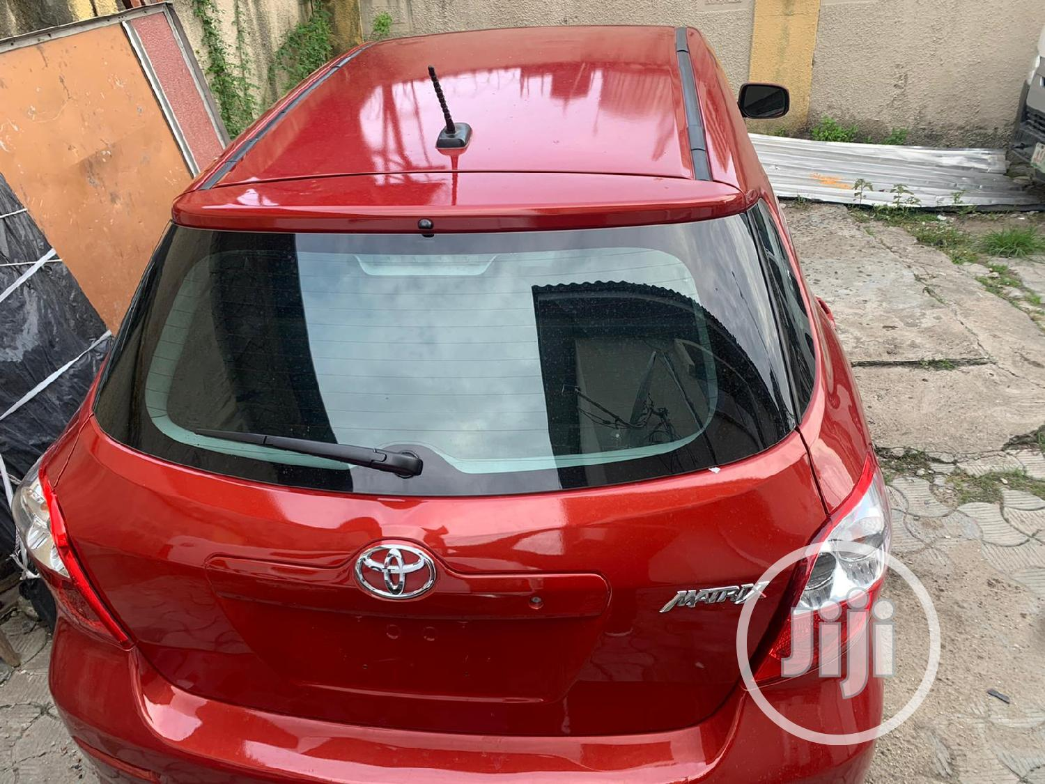 Toyota Matrix 2011 Red | Cars for sale in Victoria Island, Lagos State, Nigeria